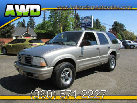 2001 Oldsmobile Bravada for sale at Hall Motors LLC in Vancouver WA