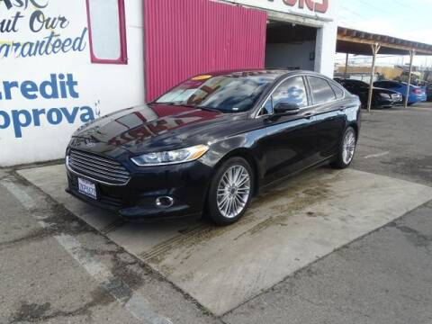 2015 Ford Fusion for sale at New Start Motors in Bakersfield CA