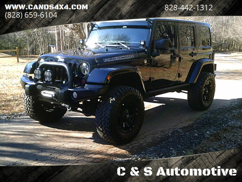 2012 Jeep Wrangler Unlimited for sale at C & S Automotive in Nebo NC