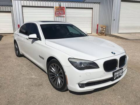 2011 BMW 7 Series for sale at Mafia Motors in Boerne TX