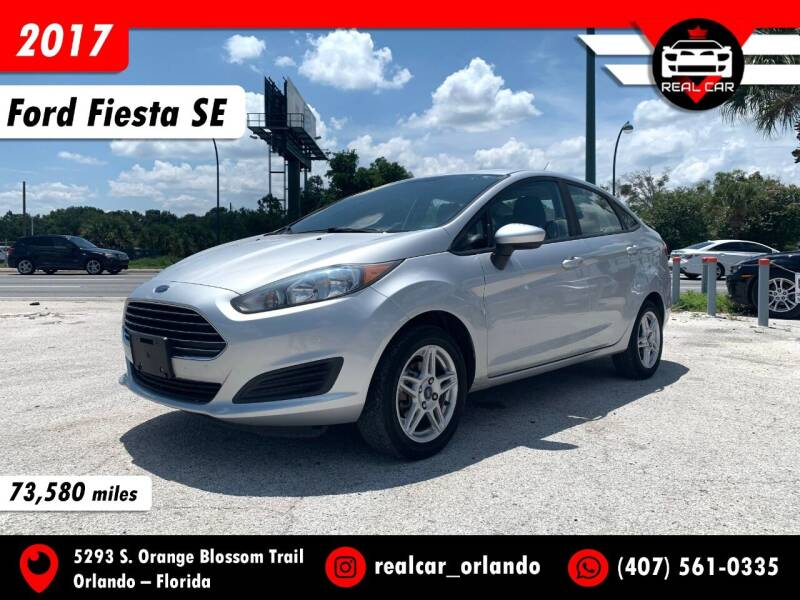 2017 Ford Fiesta for sale at Real Car Sales in Orlando FL