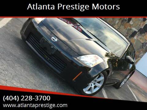 2004 Nissan 350Z for sale at Atlanta Prestige Motors in Decatur GA