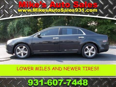 2012 Chevrolet Malibu for sale at Mike's Auto Sales in Shelbyville TN