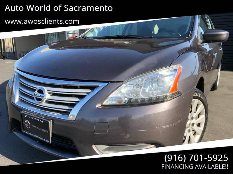 2015 Nissan Sentra for sale at Auto World of Sacramento Stockton Blvd in Sacramento CA
