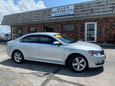 2015 Volkswagen Passat for sale at Allen Motor Company in Eldon MO