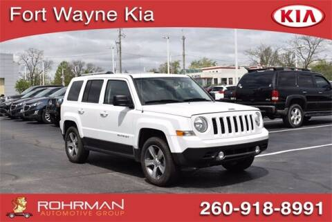 2017 Jeep Patriot for sale at BOB ROHRMAN FORT WAYNE TOYOTA in Fort Wayne IN
