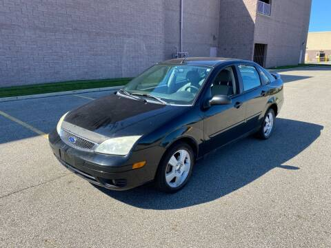 2007 Ford Focus for sale at JE Autoworks LLC in Willoughby OH