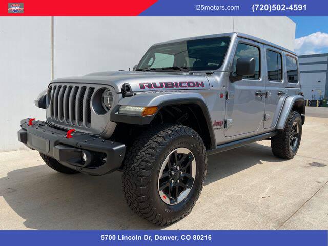 2018 Jeep Wrangler Unlimited for sale in Denver, CO
