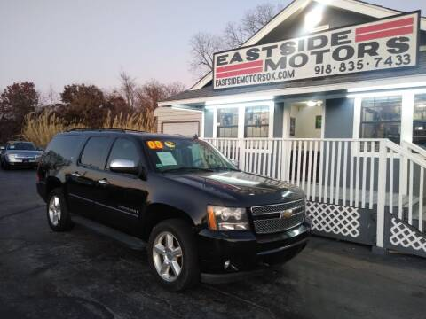 2008 Chevrolet Suburban for sale at EASTSIDE MOTORS in Tulsa OK