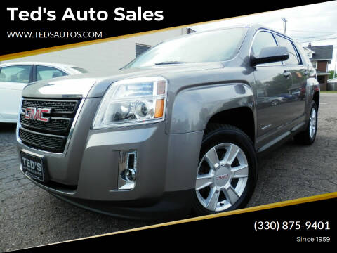 2012 GMC Terrain for sale at Ted's Auto Sales in Louisville OH