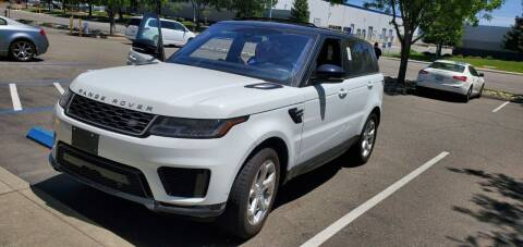 2018 Land Rover Range Rover Sport for sale at Bell Auto Inc in Long Beach CA