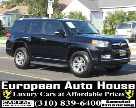 2011 Toyota 4Runner for sale at European Auto House in Los Angeles CA