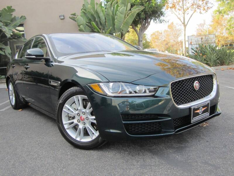2017 Jaguar XE for sale at ORANGE COUNTY AUTO WHOLESALE in Irvine CA
