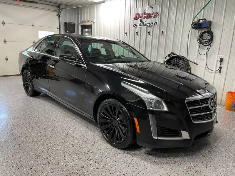 2014 Cadillac CTS for sale at D-Cars LLC in Zeeland MI