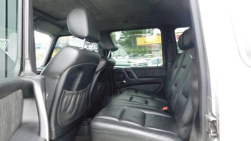 2005 Mercedes-Benz G-Class AWD G 500 4MATIC 4dr SUV - Jonesboro GA
