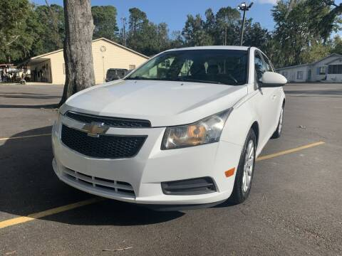 2011 Chevrolet Cruze for sale at REDLINE MOTORGROUP INC in Jacksonville FL
