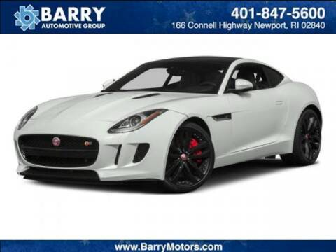 2015 Jaguar F-TYPE for sale at BARRYS Auto Group Inc in Newport RI