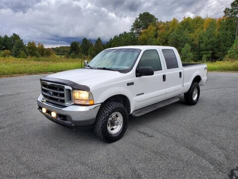 2002 Ford F-250 Super Duty for sale at Apex Autos Inc. in Fredericksburg VA