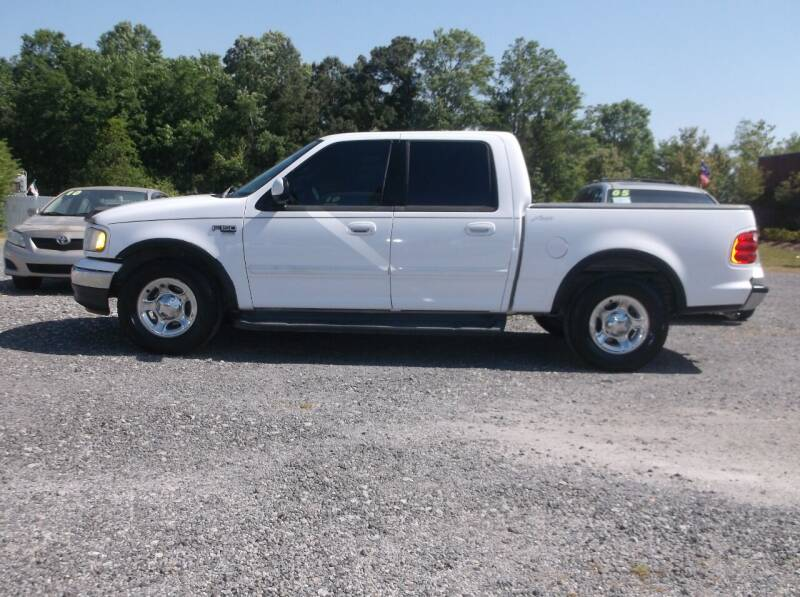 2002 Ford F-150 for sale at Car Check Auto Sales in Conway SC