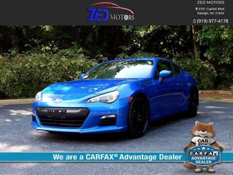 2014 Subaru BRZ for sale at Zed Motors in Raleigh NC