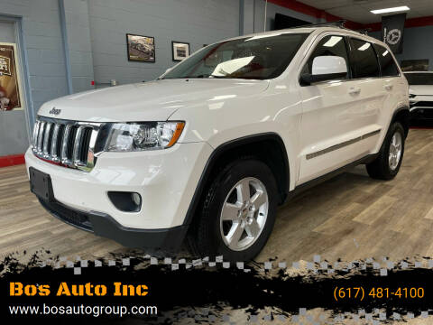 2012 Jeep Grand Cherokee for sale at Bos Auto Inc in Quincy MA