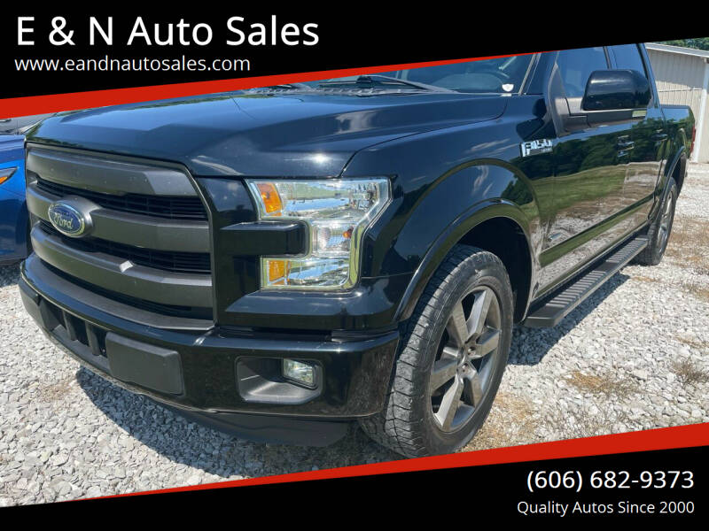 2016 Ford F-150 for sale at E & N Auto Sales in London KY