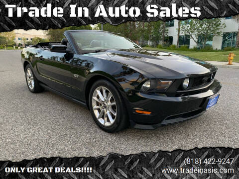 2010 Ford Mustang for sale at Trade In Auto Sales in Van Nuys CA