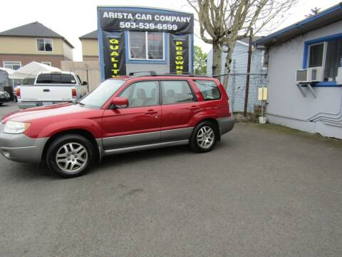 2006 Subaru Forester for sale at ARISTA CAR COMPANY LLC in Portland OR
