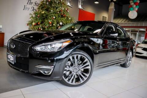 2017 Infiniti Q70 for sale at Quality Auto Center of Springfield in Springfield NJ