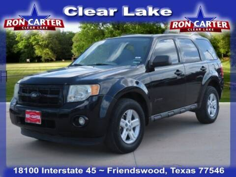 2011 Ford Escape Hybrid for sale at Ron Carter  Clear Lake Used Cars in Houston TX