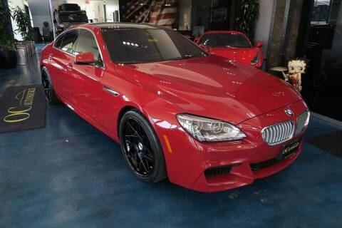 2013 BMW 6 Series for sale at OC Autosource in Costa Mesa CA