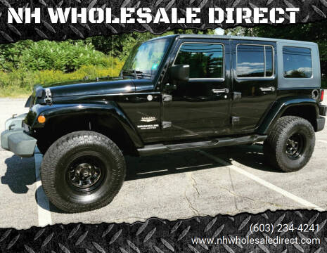2008 Jeep Wrangler Unlimited for sale at NH WHOLESALE DIRECT in Derry NH