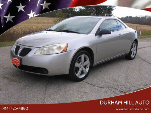 2007 Pontiac G6 for sale at Durham Hill Auto in Muskego WI