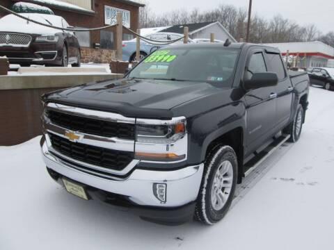 2017 Chevrolet Silverado 1500 for sale at WORKMAN AUTO INC in Pleasant Gap PA