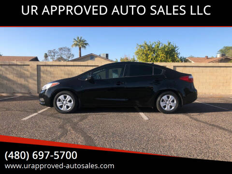 2015 Kia Forte for sale at UR APPROVED AUTO SALES LLC in Tempe AZ