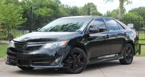 2013 Toyota Camry for sale at Texas Auto Corporation in Houston TX