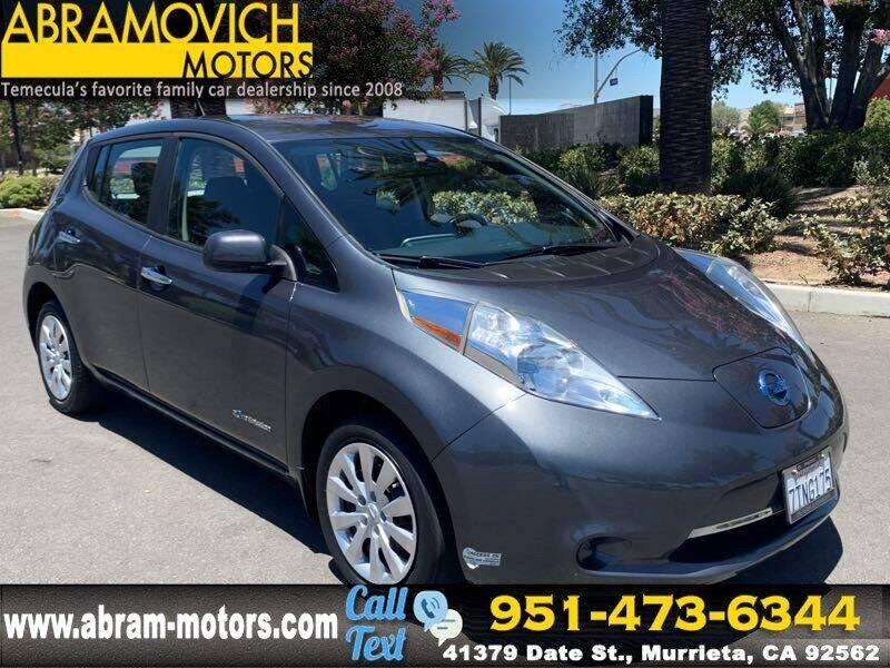 2013 Nissan LEAF for sale in Murrieta, CA