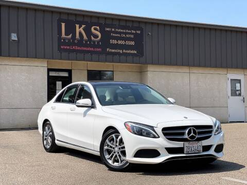 2016 Mercedes-Benz C-Class for sale at LKS Auto Sales in Fresno CA