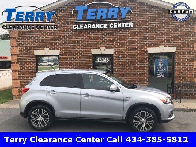 2016 Mitsubishi Outlander Sport for sale at Terry Clearance Center in Lynchburg VA