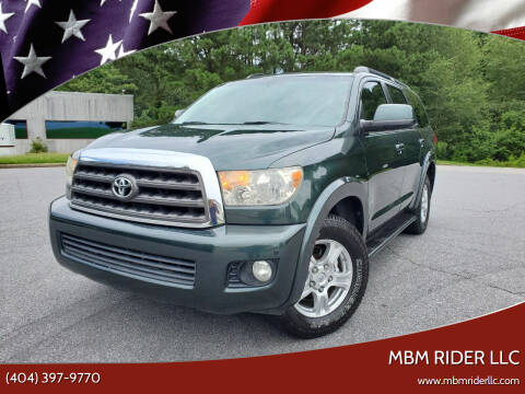 2008 Toyota Sequoia for sale at MBM Rider LLC in Alpharetta GA