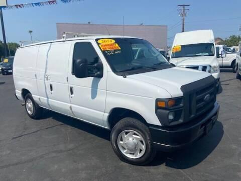 2014 Ford E-Series Cargo for sale at Auto Wholesale Company in Santa Ana CA