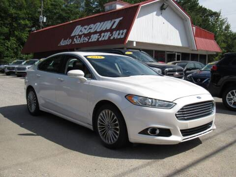 2013 Ford Fusion for sale at Discount Auto Sales in Pell City AL