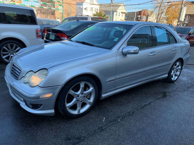 2007 Mercedes-Benz C-Class for sale at Barnes Auto Group in Chicago IL