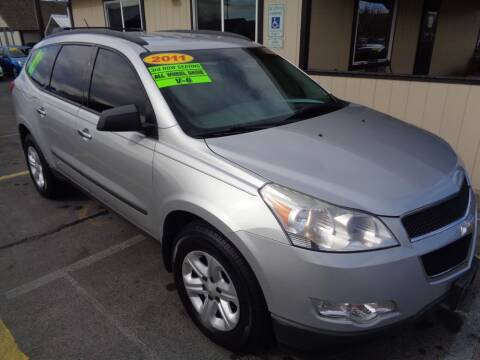 2011 Chevrolet Traverse for sale at BBL Auto Sales in Yakima WA