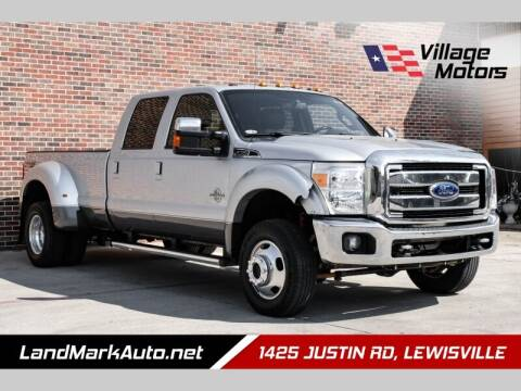 2012 Ford F-450 Super Duty for sale at Village Motors in Lewisville TX
