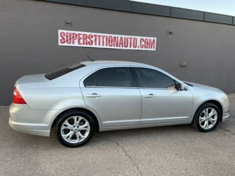 2012 Ford Fusion for sale at Superstition Auto in Mesa AZ