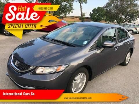 2015 Honda Civic for sale at International Cars Co in Murfreesboro TN