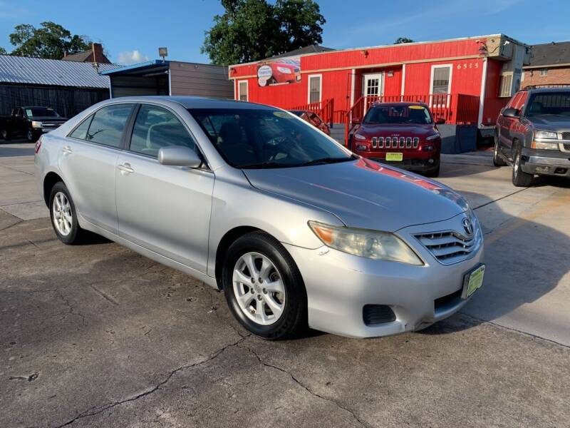 2011 Toyota Camry for sale at JORGE'S MECHANIC SHOP & AUTO SALES in Houston TX