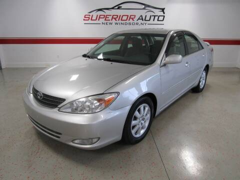 2004 Toyota Camry for sale at Superior Auto Sales in New Windsor NY