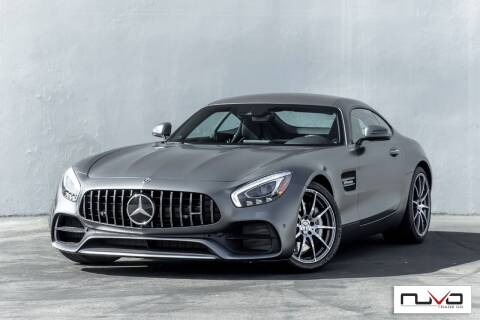 2018 Mercedes-Benz AMG GT for sale at Nuvo Trade in Newport Beach CA